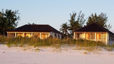 French Leave South Beach Compound, directly on French Leave Beach, the most sought after beach on Eleuthera.