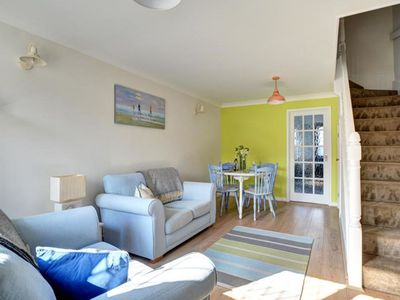 Photo for Stylish holiday home in beautiful Cornwall, near sea and river