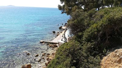 Photo for House by the sea portissol sanary, quiet residential area.   '