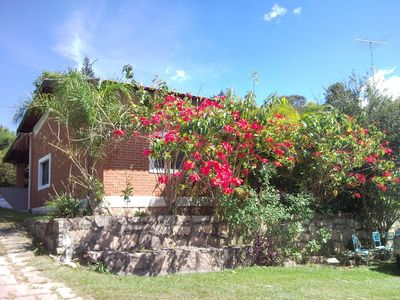 Photo for Great Finca with house, pool, Paying car park, court, Reception Hall and lake w / fishing esp.