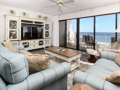 Photo for Gulfside 503: CORNER condo with beachy décor, Free Beach Service, GREAT VIEWS