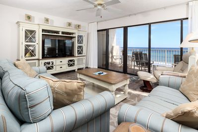 What an astonishing view of the ocean! - Beautiful Family room is GS 503 is everything you could want and need in a beach vacation home!