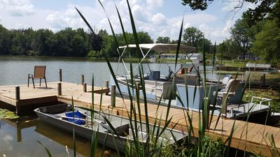 Photo for 3 Bedroom, 2 Bath Home, Private Fishing, Swimming Lake in Sister Lakes