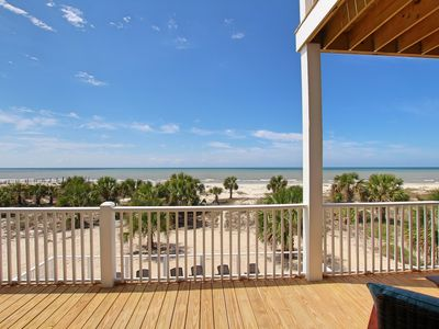 Photo for Gulf-front, beautiful views, private pool, 3 Master suites
