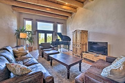 You'll love the southwestern architecture of this getaway!