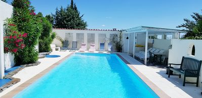 Photo for CATALAN COUNTRY HOUSE WITH HEATED POOL 12,5m x 4M FOR 2 to 11