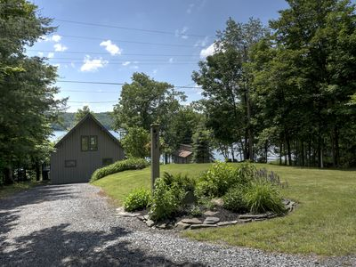 Photo for Gorgeous Lakehouse on Owasco Lake with Breathtaking Views and Sunsets