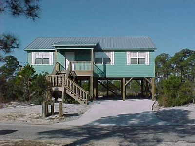 The GREAT Seahorse Beach House! TONS of R & R :) PRIVACY on the Gulf of Mexico!