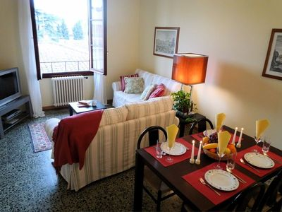 Photo for Perfect Bright Florence Historic Center- Good for 2 Couples or Families-Elevator
