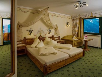 Photo for 3-6 days double room, shower and bath, WC, south - Hotel AlpenSchlössl