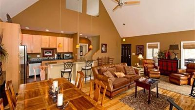 Photo for Vacation Home with Spectacular Views of the Blue Ridge Mountans