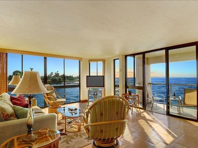 Spectacular Oceanfront Corner Unit Condo at Kuhio Shores