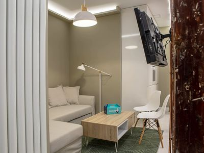 Photo for Cozy 3Bed3Bath w/Patio in Madrid's City Center