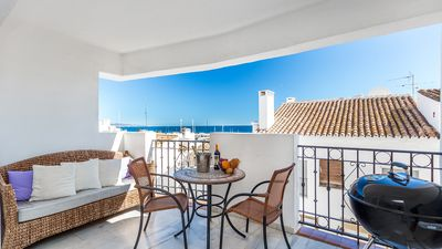 SECOND-LINE-PENTHOUSE-PUERTO -BANUS- APARTMENT-FOR-RENT-IN -MARBELLA SEA VIEWS
