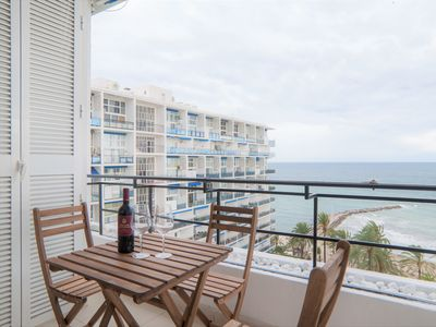 Photo for Apartment with Panoramic Sea Views and Balcony