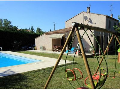 Photo for VILLA WITH SWIMMING POOL COVERED REMOTE CONTROL