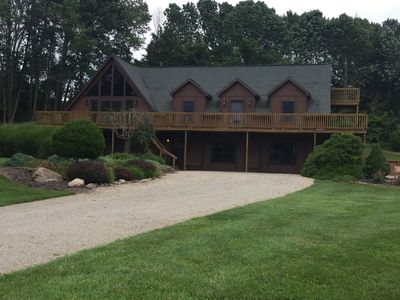 Photo for Spacious Hocking Hills Lodge/Cabin