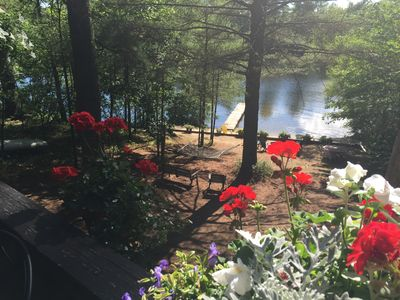 Photo for Prime Weeks Available, Ossipee Lakefront, ideal for 2 families, private beach