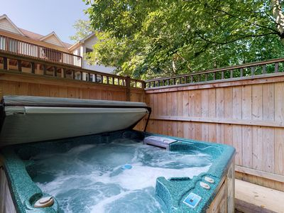 Photo for Home w/mountain views, hot tub, pool table, wet bar - Close to Lake activities!
