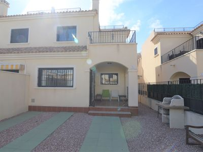 Photo for Comfortable holiday home in quiet neighbourhood with shared swimming pool