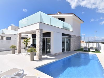 Photo for TOP holiday villa with private pool south of Alicante
