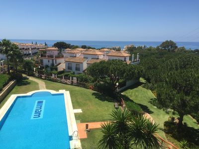 Photo for Cabopino townhouse with stunning views