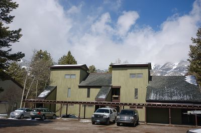 Front Exterior with Mountains in Background