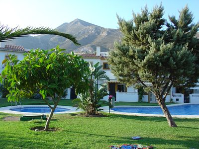 Photo for Villa with pool plus sea and mountain views.