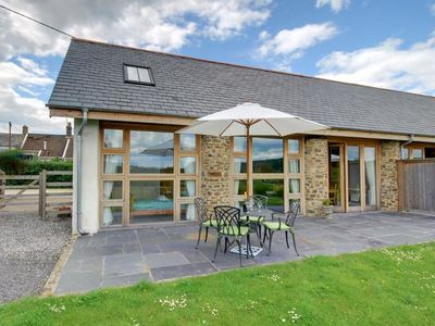 Photo for Large, modern farmhouse in Umberleigh, with heigh ceilings and beautiful terrace