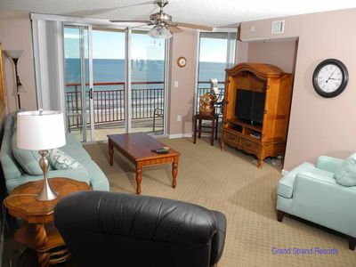 Photo for South Shore Villa Unit 801! Stunning Oceanfront Premium Condo. Book your get away vacation today!