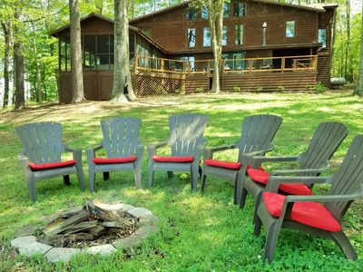 Photo for Taylormade Cabin Rustic lakefront cabin nestled among the trees recent updates