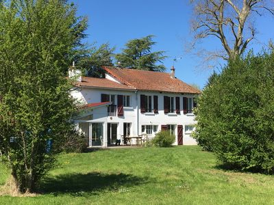 Photo for Country house with tennis, bikes and sporting activities