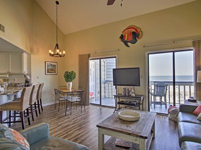 Photo for Walk to Shops & Gulf Shores from Beach-View Condo!