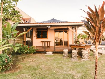 Photo for Tahiti Surf Beach Paradise Beach Front Bungalows Available now