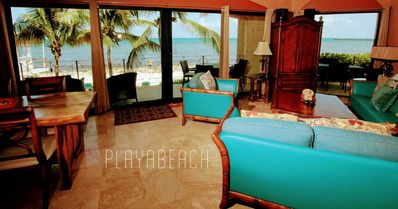 Photo for Directly on the ocean, poolside, amazing ocean views, steps to 5th Ave. Maid, WiFi