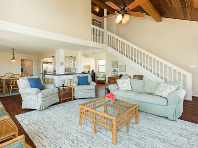 Photo for Dog-friendly beach bungalow with decks, ocean view, patio, and more!