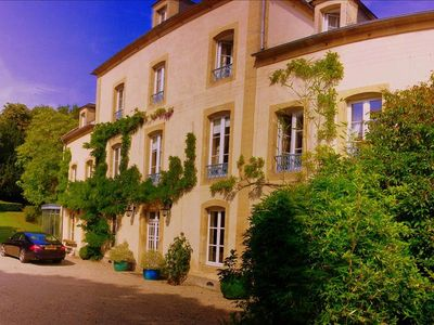 Photo for Confirmed instant book: Stunning chateau with land, swimming pool, home cinema at D-Day