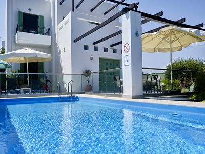 Photo for Lux. Detached Villa w/ Private Pool, Sea View, Beautiful Garden, Toddler-safe!
