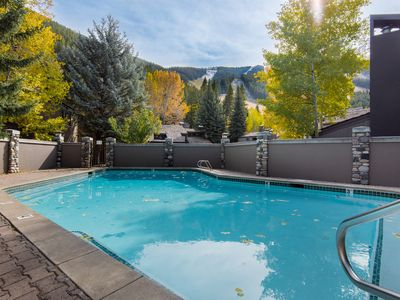 Photo for Bright ski-in/ski-out condo at the base of Warm Springs w/ shared seasonal pool!