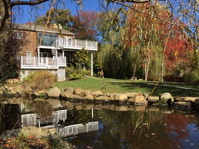 Photo for Sayville Area  - Exquisite Beachhouse, Stunning, Picturesque, Private, Sleeps 9