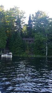 Photo for Cozy 2BR Cabin on 450 acre Fisher Lake: Bear Bottom Hideaway!
