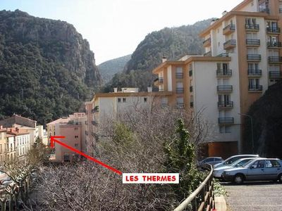 Photo for Apartment 4 people near downtown and thermal baths - 2 Room Apartment 4 people