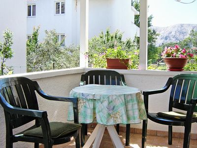 Photo for Two bedroom apartment with terrace Baška (Krk)