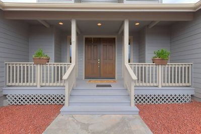 Front porch and entry