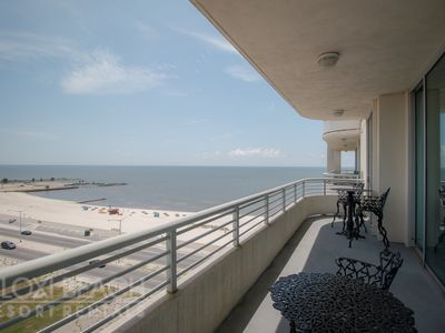 Photo for Updated Condo w/ Great Views, WiFi, Balcony & Pool House Access