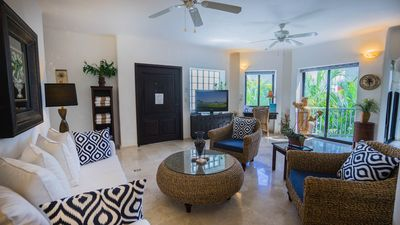 Photo for Stunning 3 bedroom condo with 2 Master bedrooms by BRIC at The Royal Palms