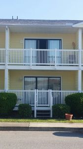 Photo for 2 Bedroom, 2 bath , 2 floors POOL is filled and ready to go .