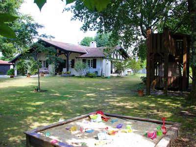 Photo for Family house 8 Adults and 6 children -18 years old / Heated pool / Tennis