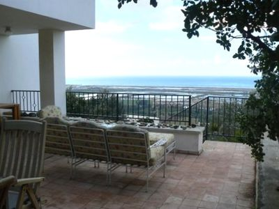 Photo for Amazing Mediterranean Sea Views from Zichron Yaacov Apartment