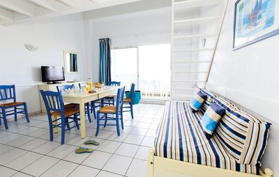 Photo for Residence Odalys Les Terrasses de Fort Boyard - Studio Cabin 2/3 People Sea or pool view